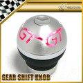 Car-styling JDM Universal LED Red Shinning Light 5 6 Manual Gear Shift Knob Stick MOMO