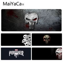 MaiYaCa The Punisher wallpaper Silicone Pad to Mouse Game Size for 40x90CM Speed Version Gaming Mousepads