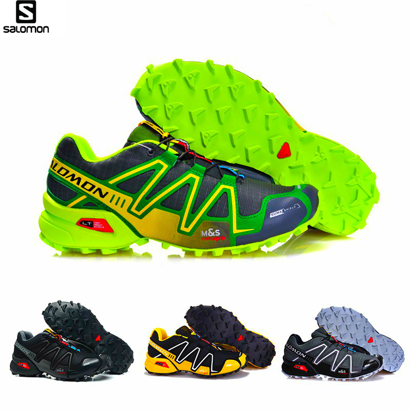 Salomon Speedcross 3 CS uomo Scarpe Outdoor Traspirante Aria Ammortizzazione Runningg Scarpe Zapatillas Hombre Mujer Maschio Corsa e Jogging della Scarpa Da Tennis