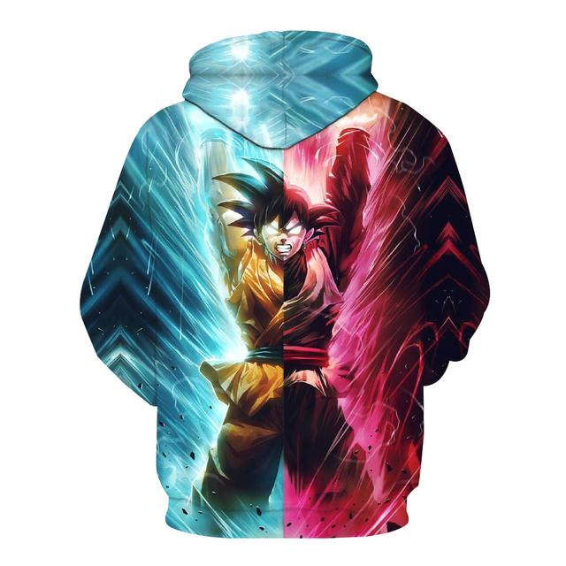 Super Saiyan God Blue Rose Goku Sweater