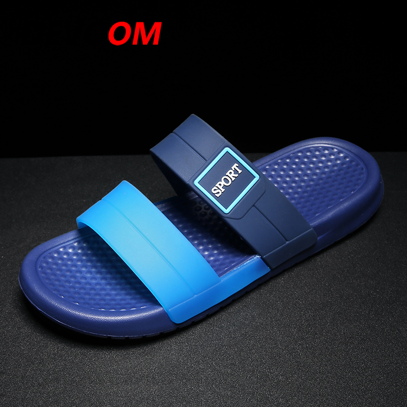 2018 Summer Fish Slippers Men Flip Flops Fashion Non-slip Beach Slipper Aqua Shoes Brand Quality Mens Slippers Tongs Homme Ete