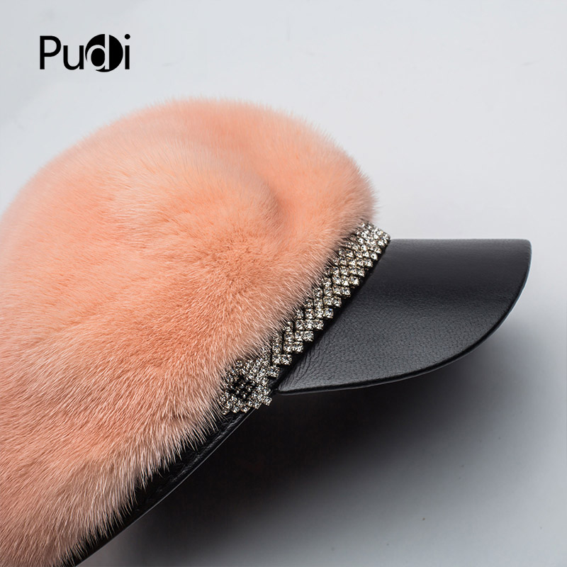 Svadilfari Hot Seller Winter 2018 Cowskin Baseball Elderly Cap Gift For Dad Mom Genuine Leather Ear Man Woman Warm Casual Hat - 3