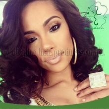 Brazilian virgin 12inch short human hair bob lace front wig loose wave glueless full lace wigs with baby hair for black women