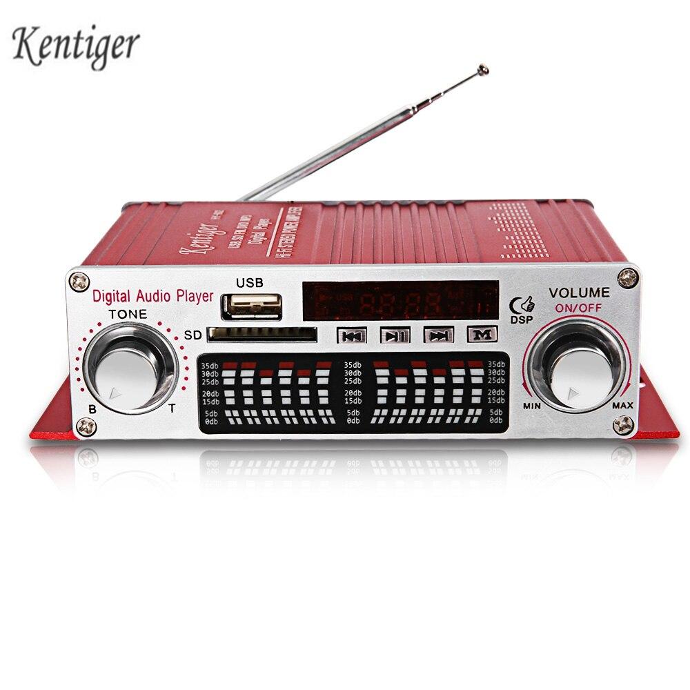 Kentiger Heißer Verkauf HY-602 HiFi Bass Stereo Power Digital Verstärker Mit IR Control FM MP3 USB Wiedergabe Mit Fernbedienung