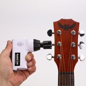 Image 5 - גיטרה חשמלי המותח Draagbare Automatische Gitaar Elektrische Snaren המותח נפגש מחרוזת חותך Voor Ukulele Guitarra Reparatie