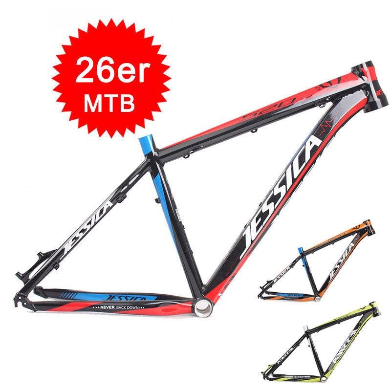16 17 MTB Bicycle Frame Superlight Aluminum alloy 26er Wheel Frameset Tapered Mountain Bike Frame
