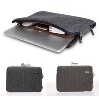 Gearmax Fashion Laptop Bag For Macbook 11 12 13 15 Case Felt Sleeve For Macbook Pro