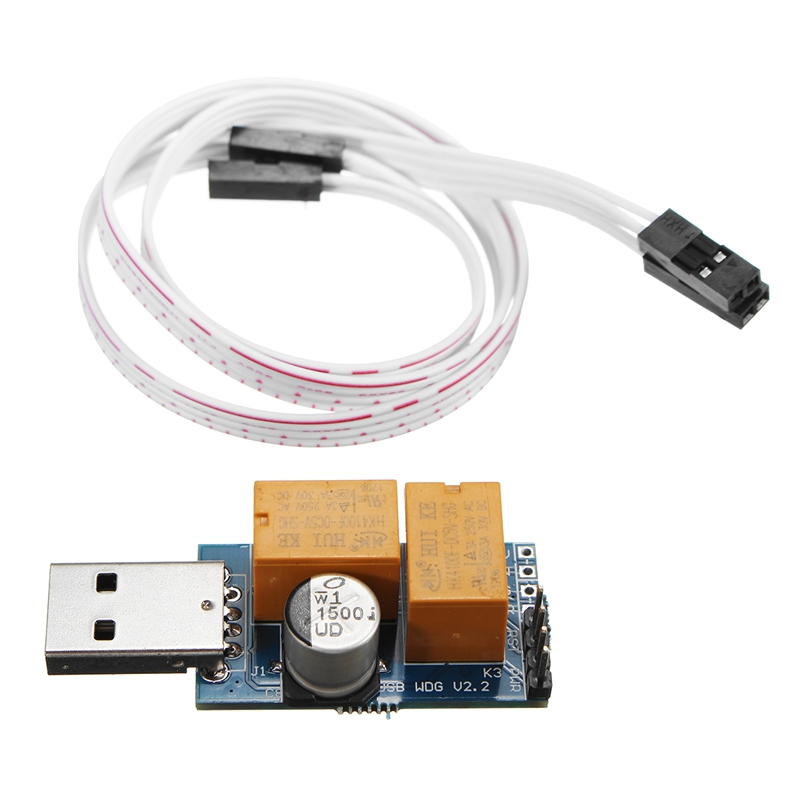 High Quality USB C Unattended Operation Crash Auto Recover Reboot USB Watchdog Card Computer Mining Game