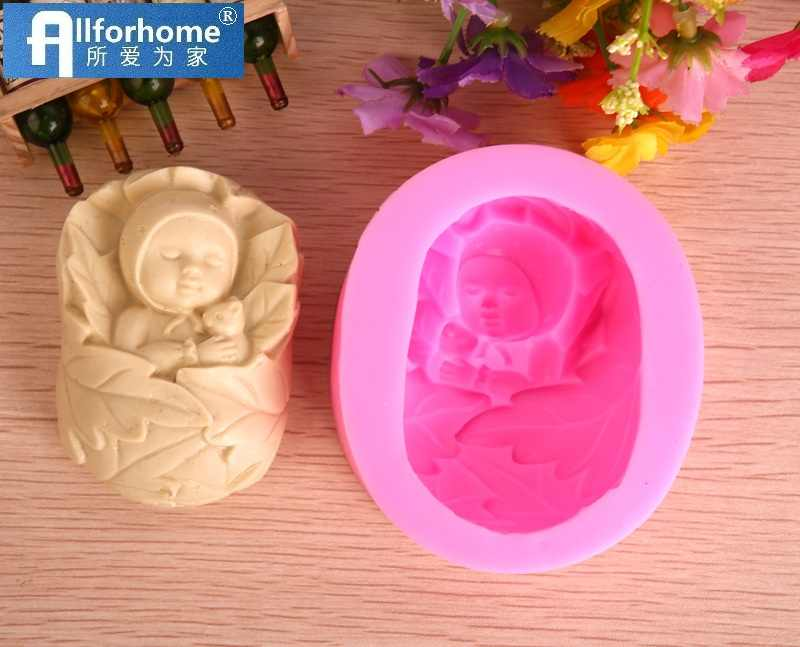 Baby Soap Molds 3D Silicone Soap Making Mould DIY Tool Handmade Soap Craft Art Soap Candle Resin Plaster