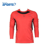 New Fashion Long Sleeve Fitness Mens T Shirts Sport Compression Mens Fitness T Shirts Exercise Cycling