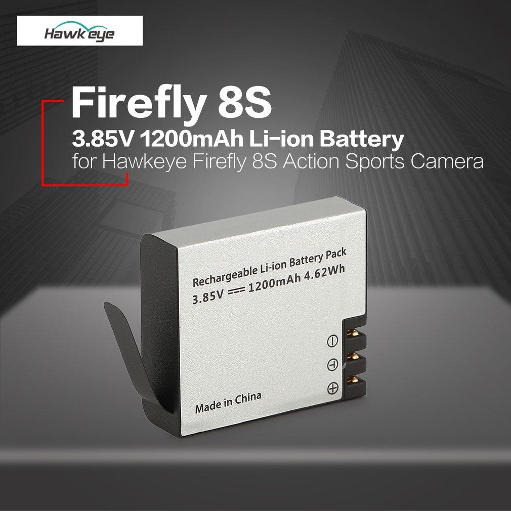 Hawkeye Firefly 8 s S009R 3,85 v 1200 mah Li-Ion Ersatz Sport Action WIFI Kamera Cam Ersatz Batterie Teile Zubehör