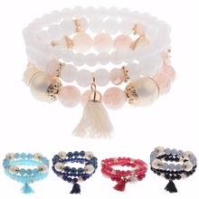 3Pcs/Lot High Quality Charm Beads Women's Bracelet Jewelry