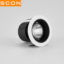 SCON AC110-240V mini LED lamp 5W/7W background wall  Downlight 7/8cm embedded 2.5 inch Washing wall Spotlight &floodlighting