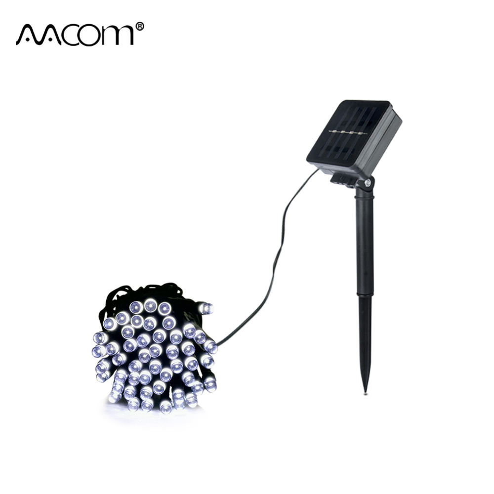 7M 12M 22M Solar LED String Lawn Lights Waterproof IP65 Outdoor Fairy Lamp 2 Modes Garden Holiday Christmas Decoration Lighting ...