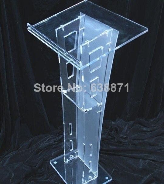 Free Shiping High Quality Premium Acrylic Desktop Lectern Cheap Acrylic Lectern