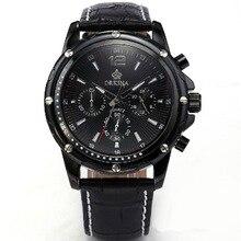 Orkina reloj de Seis hombres de Negocios reloj de cuarzo reloj de cuero ocasional