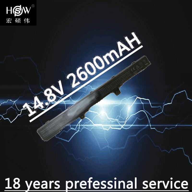 HSW Laptop Batterij Voor ASUS 0B110-00250100 A41N1308 A31N1319 X451 - Notebook accessoires - Foto 1