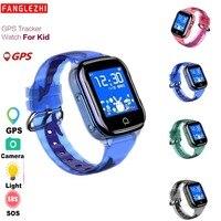 Kids gps Watch Smart Watch K21 Phone Watch For SIM Card 2019 New Sports Waterproof SOS Touch Screen Smartwatch For Kids Children