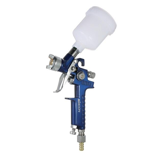 0.8mm/1.0mm HVLP Spray Gun Handy Paint Gun Sandblasting The Airbrush With Compressor Electric Spray Gun Airless paint sprayer