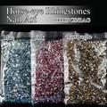 10000pcs/lot horse-eye Sharp Bottom Diamond nail art Rhinestone Glitters Nail Art Gems stone