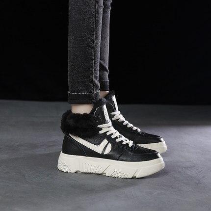 Versión 2018 Mujeres Ulzzang Salvaje Coreana Terciopelo Zapatos Nueva  Blanco 1 Casuales De Las 2 Harajuku RRnqw5pr 95c12026e228