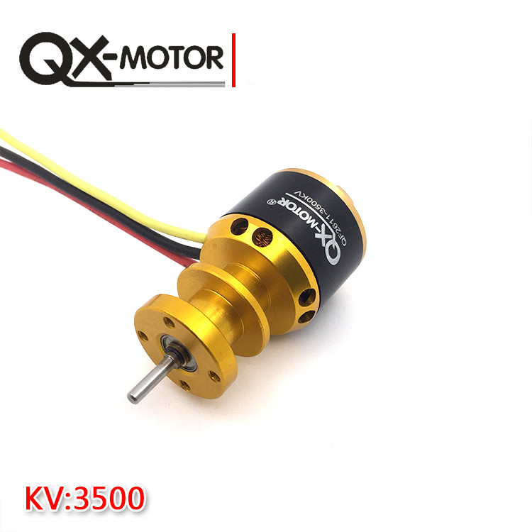 QX-MOTOR QF2611 3500KV /4500KV Brushless Motor 55mm/64mm Ducted Fan Jet EDF 3-4S Lipo for RC Airplanes F22139/40 бензиновая виброплита калибр бвп 20 4500