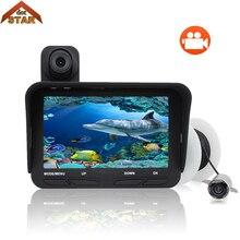 """Рыболокатор DVR видео 4,"""" 20 м 6 светодиодный инфракрасный светодиодный камера ночного видения для рыбалки подводная рыболовная камера+ подводная камера"""