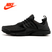 2018 Original Nike Presto Blackout Black Knight Retro Running Shoes for Men Outdoor Jogging Stable Breathable gym Shoes