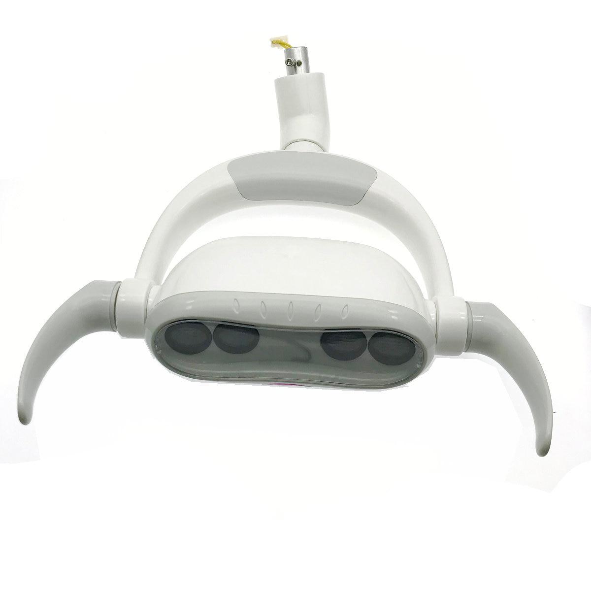 1set High quality Dental LED Oral Light LED Induction Lamp For Dental Unit Chair dental operation lamp joint size 22mm AC12V dental led oral light induction lamp for dental unit teeth whitening joint size 22mm
