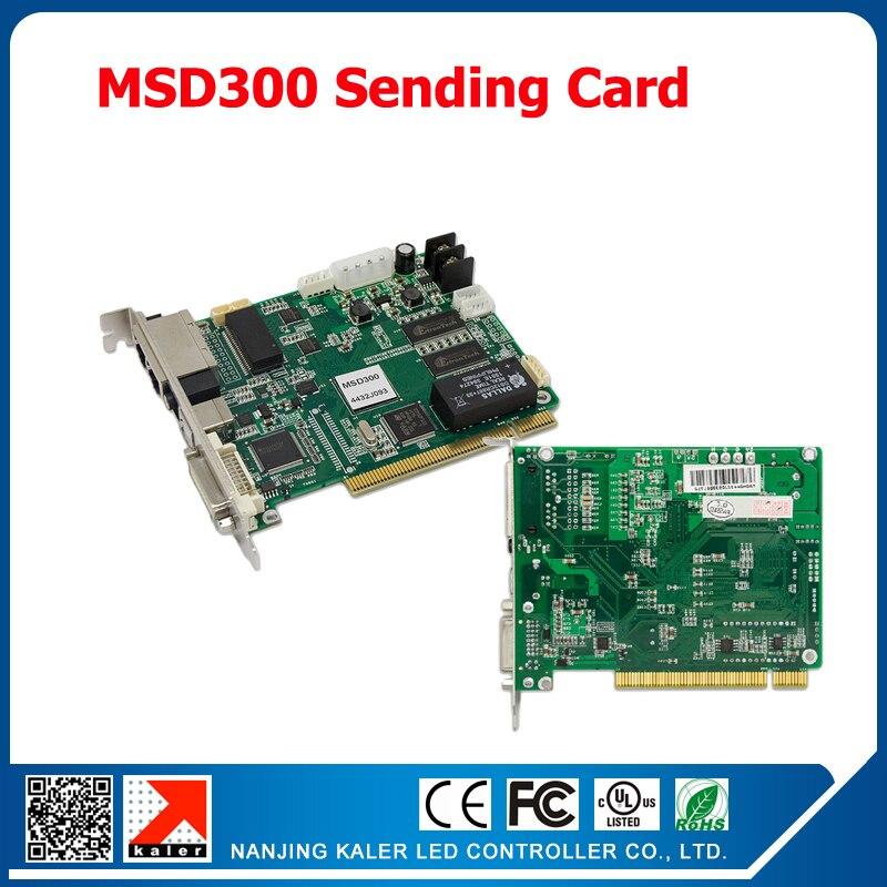NOVA Synchronous Control System MSD300 Sending Card Full Color Sending Card for Big Advertising Video LED Screen Control Card