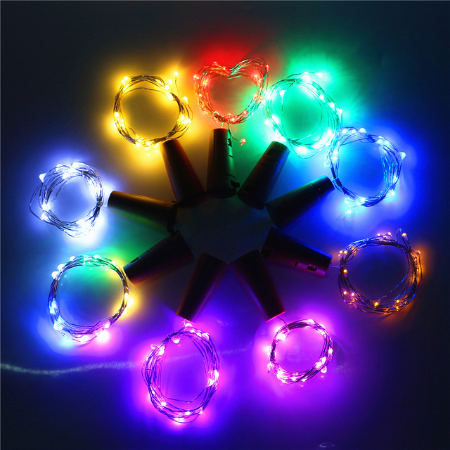 best sneakers 9f1bf 4419b US $1.35 32% OFF|3 X AG13 (LR44) Coin Cells Battery Led Bottle Stopper  String Lights for Xmas KTV Bar Party Home Holiday Decoration Fairy  lights-in ...