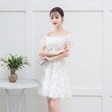 White Colour Bridemaid Dress Tassel Mini Dress for Women Wedding Party Dress Back of Zipper bridemaid dress pink color mini dress women wedding party dress