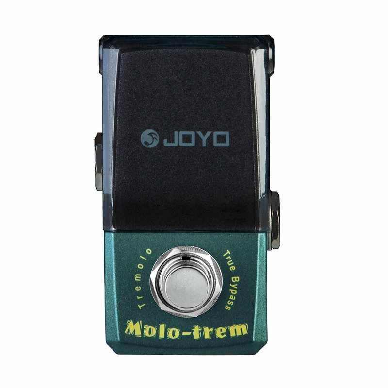 JOYO JF-325 Molo-trem Tremolo الغيتار تأثير دواسة المعالج صحيح تجاوز الآثار صندوق ستومبوكس صغير الغيتار الكهربائي دواسة الملحقات