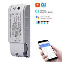 3/5/6pcs Smart wifi Dimmer switch work with Google Home Alexa IFTTT Wifi/voice control Light Module Switch by tuya smartlife App