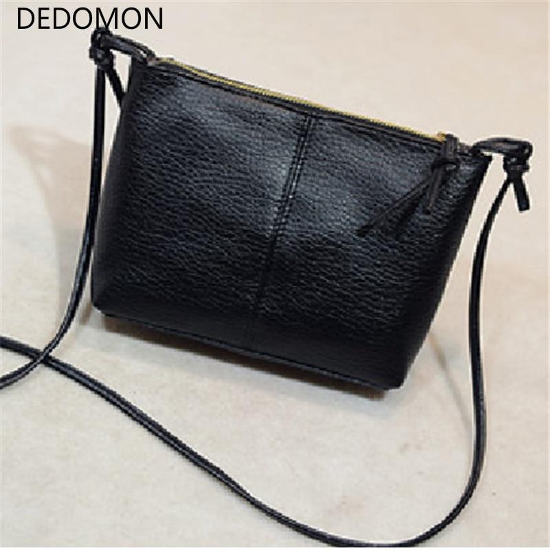 2020 Fashion Casual Zipper Shoulder Bag Flap Cross-body Bag Small Vintage Women's Handbag Soft Pu Leather Women Messenger Bags