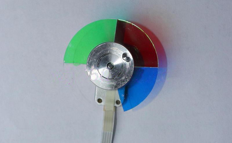 все цены на New For OPTOMA EP732B EP747 DLP Projector Color Wheel 4 Segment Diameter 44mm онлайн