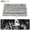 Black Green Silver For Kawasaki Z800 Z1000 Z1000SX Z750 Motorbike Stainless Steel Radiator Grille Guard Cover Protector