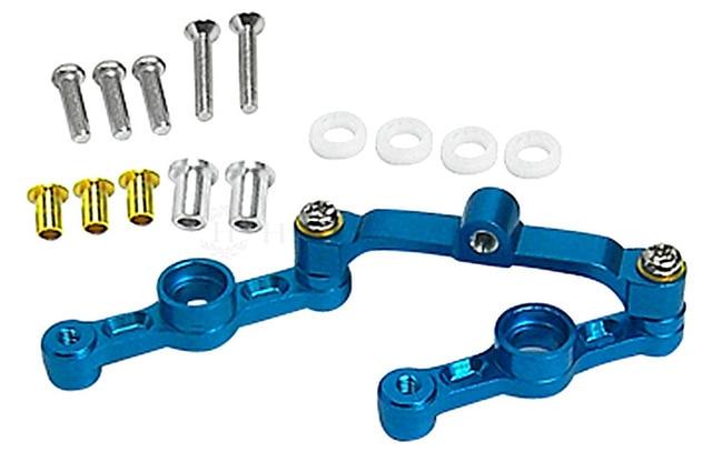 TT-01 RC car for OP parts Steering combination Section B Aluminum alloy material gletcher tt