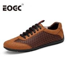 통풍 남성 캐주얼 신발 편안한 소프트 워킹 신발 남성 플랫 슈즈 가벼운 옥외 여행 여름 신발 플러스 사이즈