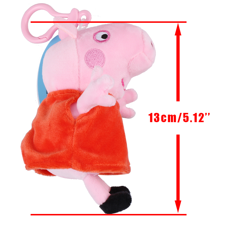 Brand-Peppa-George-Pig-Family-Plush-Toys-Stuffed-Doll-Party-decorations-Schoolbag-Ornament-Keychain-Toys-For-Children-Kids-Girls-3