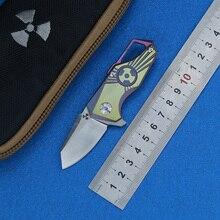 LEMIFSHE JK5313 Flipper s35vn steel blade Titanium handle outdoor camping hunting pocket kitchen fruit folding knife EDC tool цена 2017
