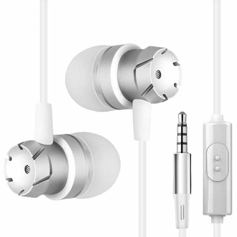 สำหรับ Huawei Honor V9 Play 6C Pro 9 8 7 6 6A 6X 6C 5C 5A 5X 4A 4 3C หูฟังหูฟังพร้อมหูฟัง Mic หูฟังแจ็ค 3.5 มม. หูฟังกรณี