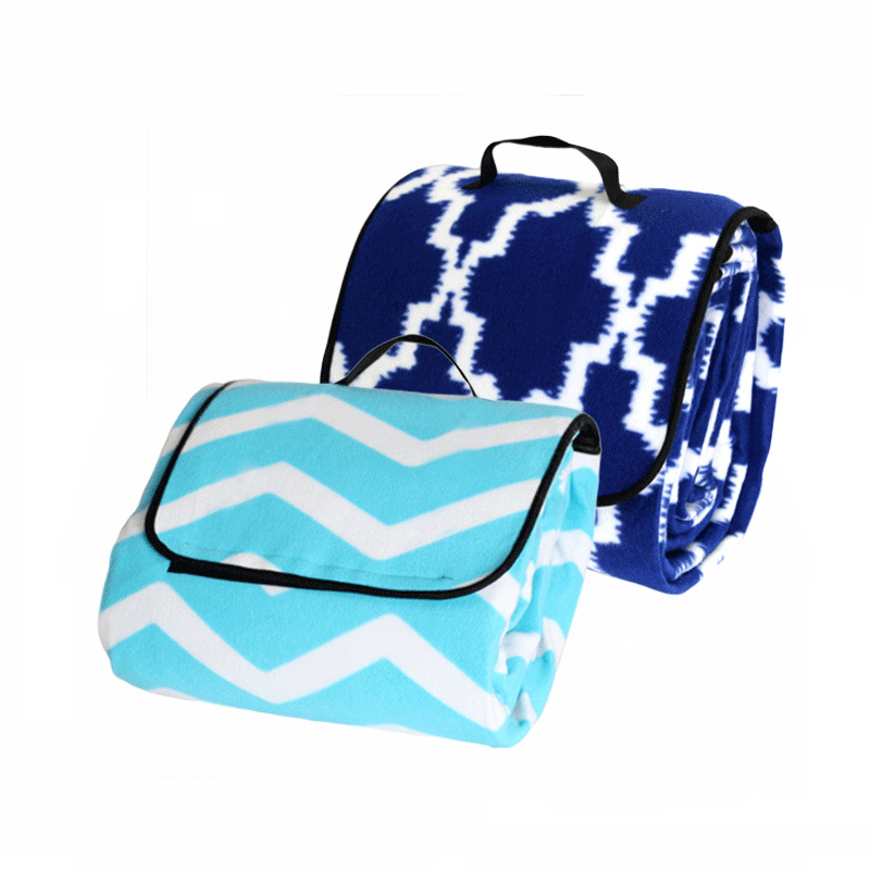 Image 2 - Outdoor Moistureproof Beach Blanket Mat Foldable Camping Mat Pad Picnic Mat Pad Blanket Indoor Baby Crawling Blanket Pad-in Camping Mat from Sports & Entertainment