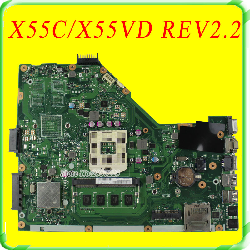 For ASUS Motherboard X55C X55VD REV2 2 Mainboard HM76 DDR3 USB3 0 fully tested free shipping ��������� � ������������� �� ����� ������ �������� ��� pnoz x4 wiring diagram at soozxer.org