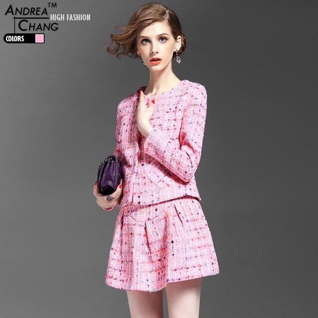 Calidad Otoño Conjunto Mujer De Alta Ropa Rosa Color Primavera BACwxq4nXx