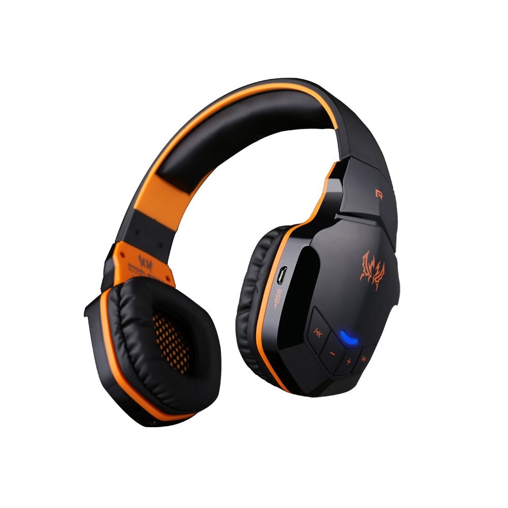 EACH B3505 Wireless Bluetooth 4.1 Gaming Headset Stereo Bass HiFi Music Gamer Headphones With Microphone For PC Laptop high quality gaming headset with microphone stereo super bass headphones for gamer pc computer over head cool wire headphone