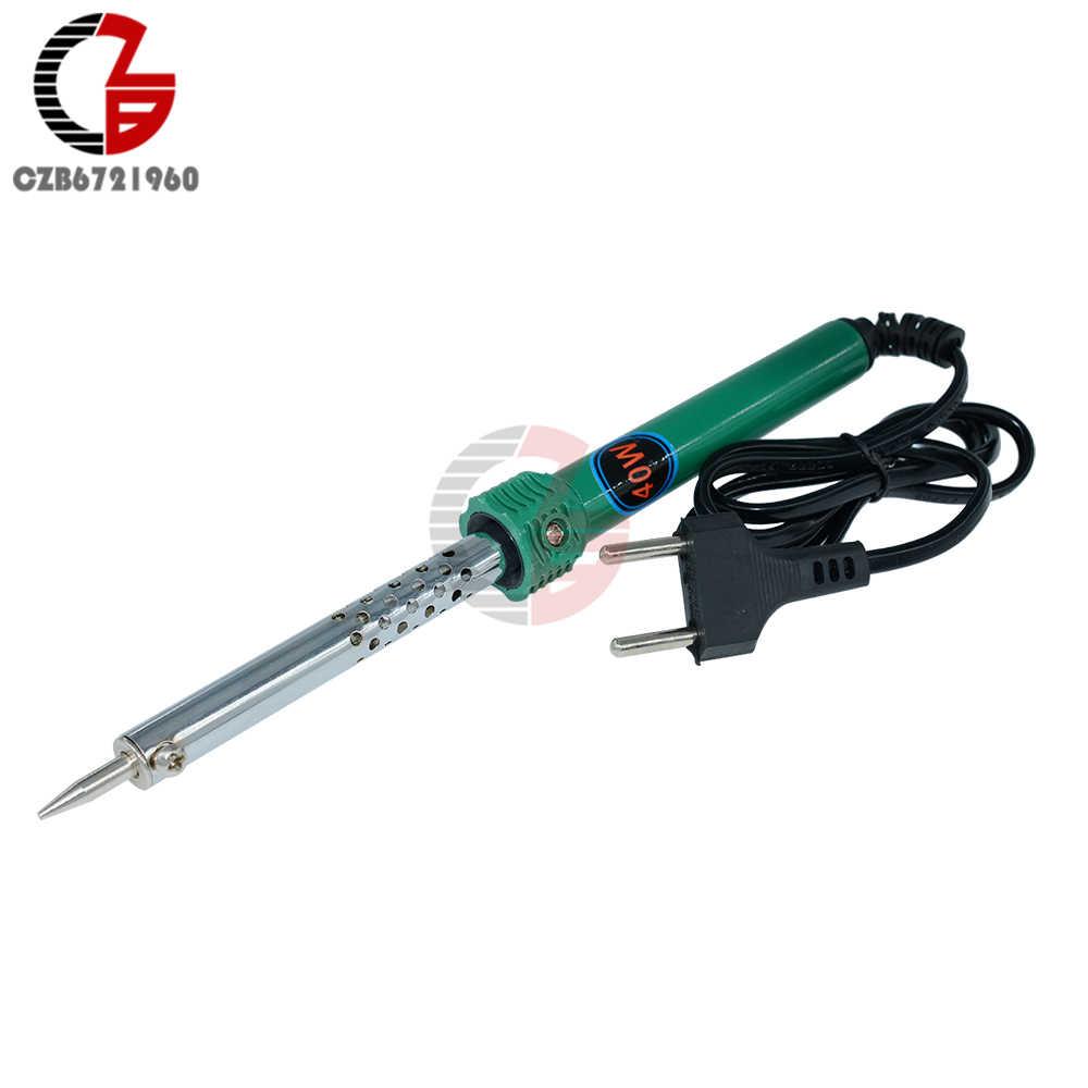 40 W 60 W AC 220 V-240 V fer à souder électrique outil de soudage EU Plug