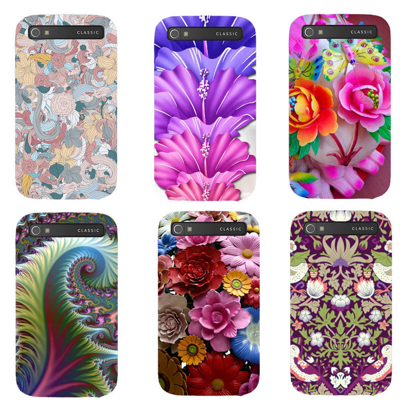 Fashion Printed Case For BlackBerry Classic Q20 BlackBerry Q20 Cover Original Printing Drawing Hard Plastic Phone Case Shell