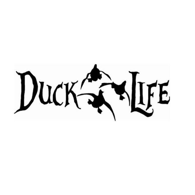 Ebay hot large 10 75x4 duck life hunting sticker decal gun rifle truck bow