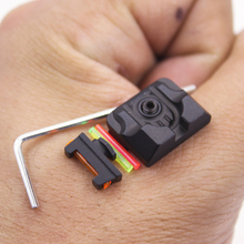 Fiber Optic Front Sight / Rear Combat Glock Sight Black for Glock  Red Dot Sight Tactical Hunting Excellent Metals цены онлайн